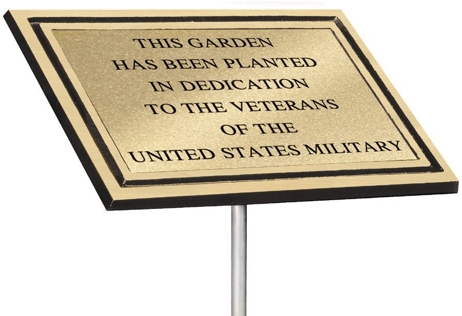 Cast Aluminum Plaque