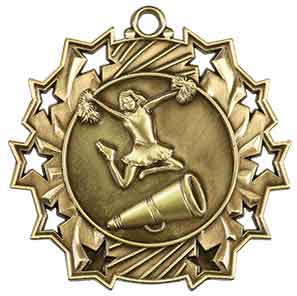 Cheerleadingl Ten Star Medal