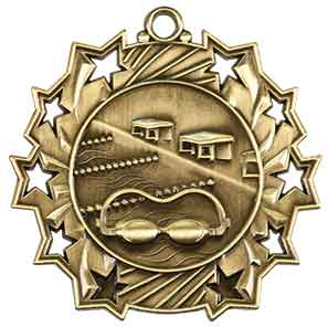 Swimming Ten Star Medal