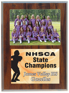 5x7 Photo Plaque