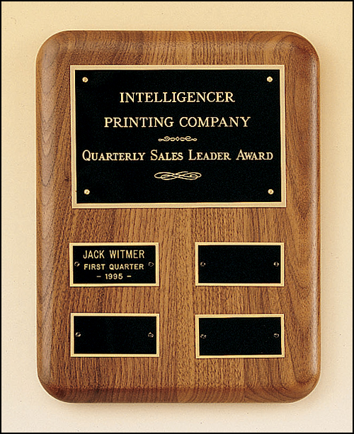 Gold Plate Perpetual Plaque