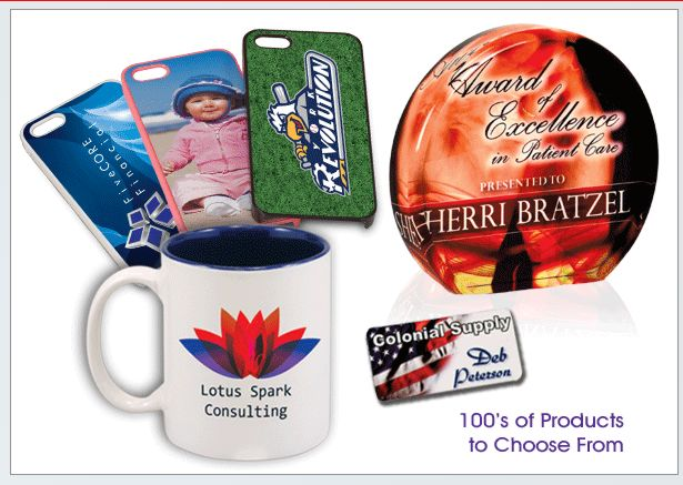 Sublimated Products