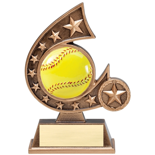 Speedy Awards And Engraving Inc Comet Resin Trophies