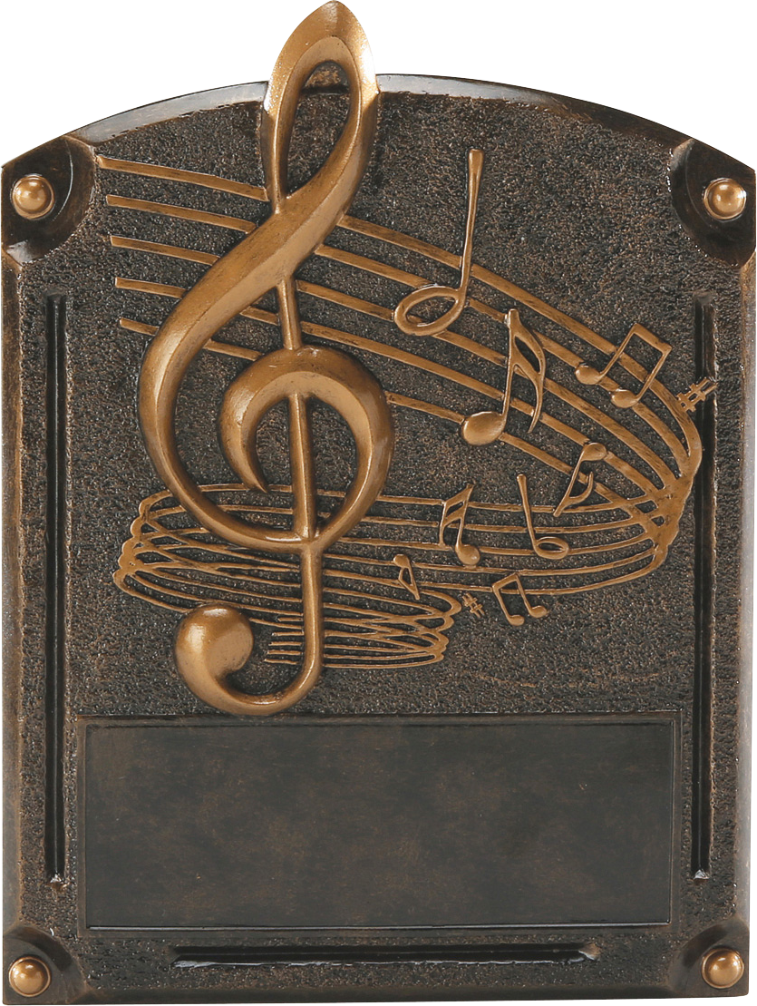 Music Legends Resin Trophy