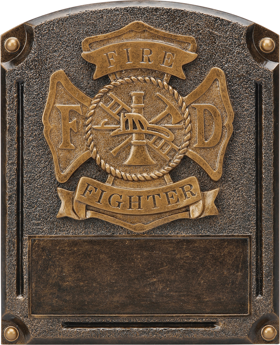 Fire Fighterl Legends Resin Trophy