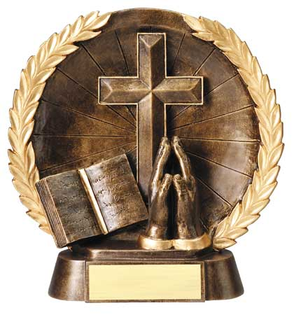 Religion Plate Resin Trophy